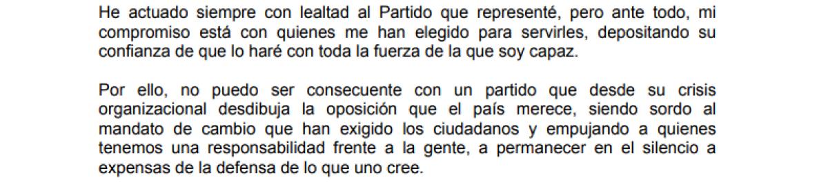 Deja el PAN Luis Fernando Salazar