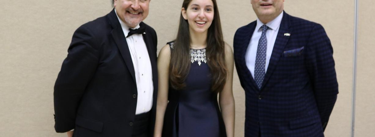 Concierto de la destacada pianista Daniela Liebman con la Orquesta Sinfónica de San Angelo.