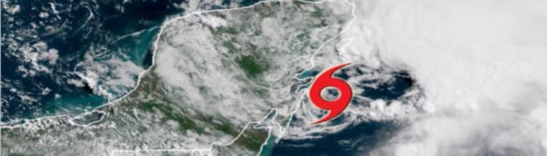 Alerta amarilla por ciclón tropical Alberto en Quintana Roo