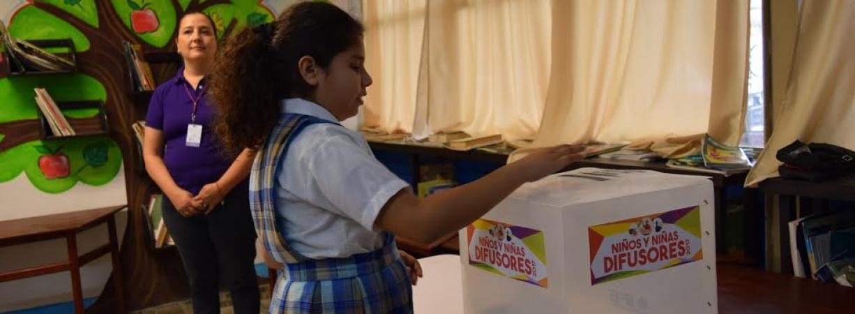 INICIAN ELECCIÓN DE NIÑOS Y NIÑAS DIFUSORES 2017.
