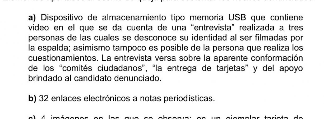 Con dos tarjetas PRI sustenta denuncia contra Anaya Llamas