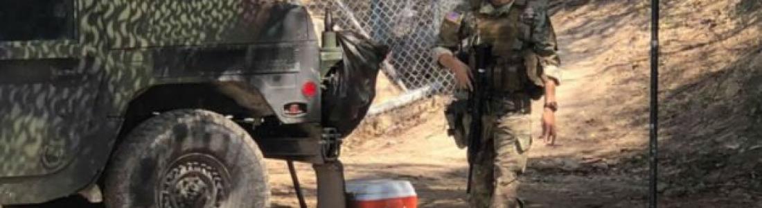La Guardia Nacional sí porta armas en la frontera con México, contrario a lo que aseguró EU