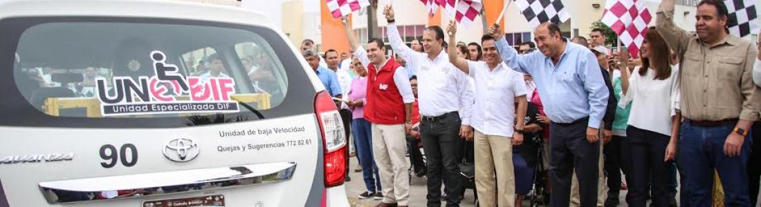En Acuña, gobernador y alcalde inauguran y ponen en marcha obras