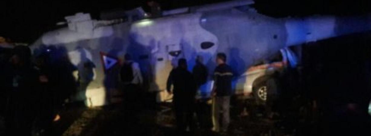 Se desploma helicóptero en Oaxaca y mata a 2; ilesos, Navarrete Prida y Murat