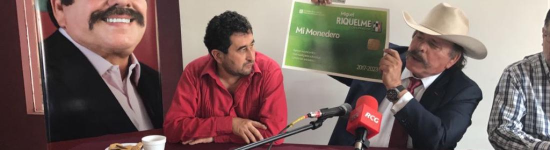 Denuncia Guadiana ante la FEPADE tarjetas de Riquelme