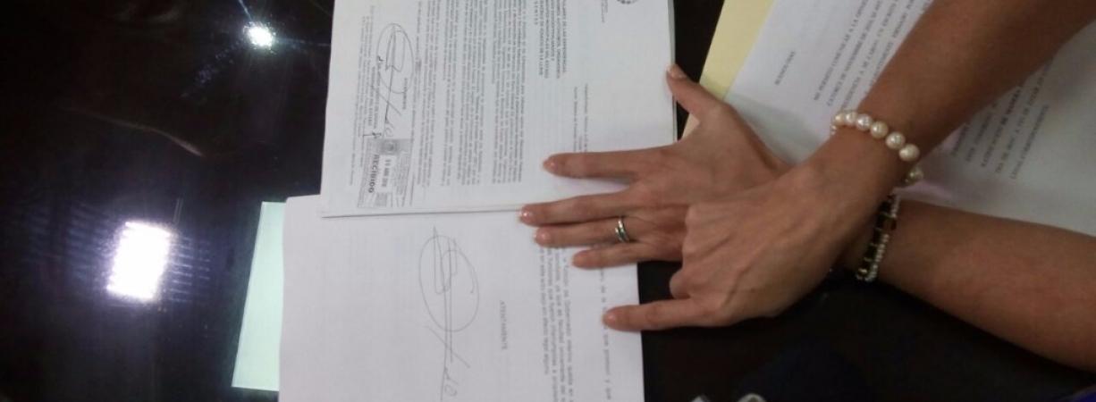 Duarte notifica al Congreso de Veracruz su deseo de volver al cargo
