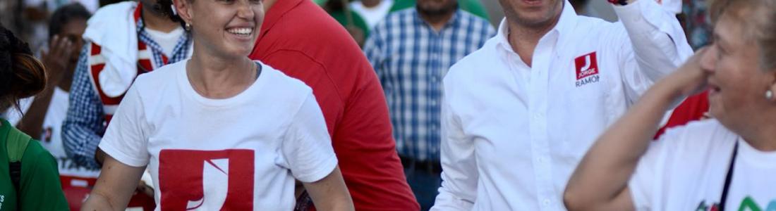 DRENAJE,  PAVIMENTACIÓN Y REGULARIZACIÓN DE TERRENOS PIDEN A JORGE RAMÓN