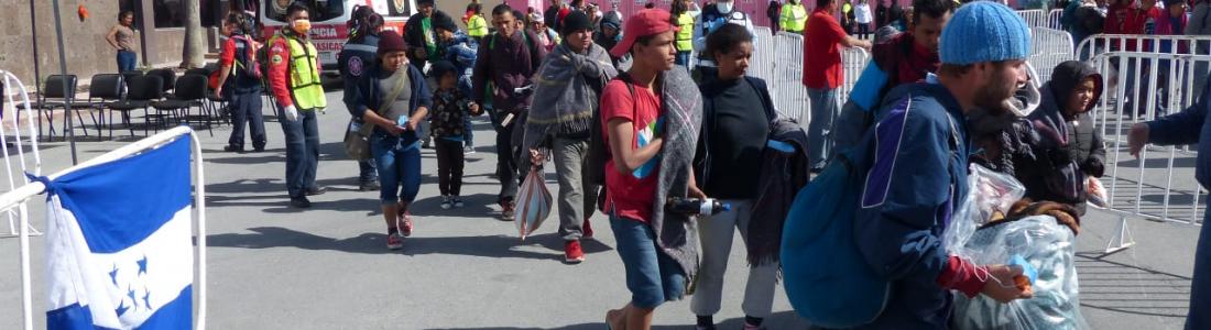 Un futuro mejor buscan migrantes centroamericanos