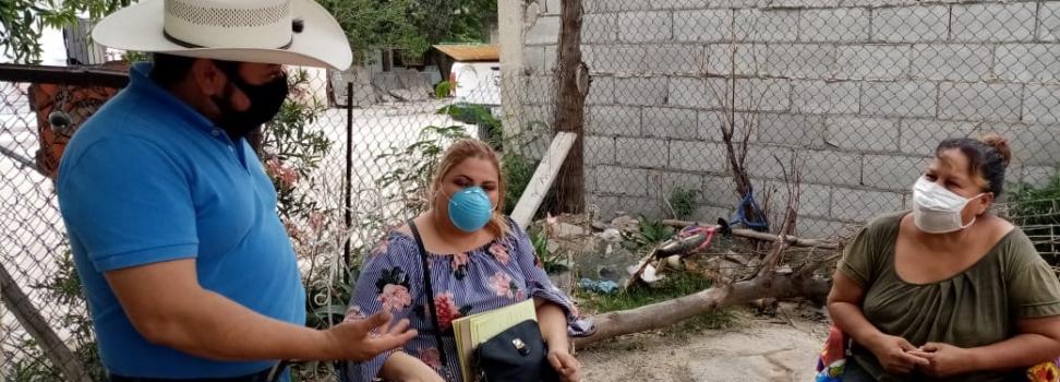 CONAVI RESPONDE, ANA MARÍA NUNCA FUE DADA DE BAJA EN EL PROGRAMA.