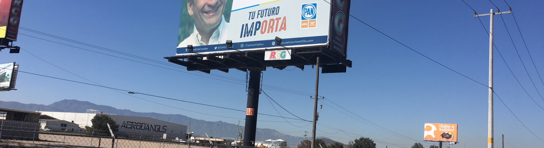Candidato busca alcaldía de Saltillo y se promociona en Ramos Arizpe