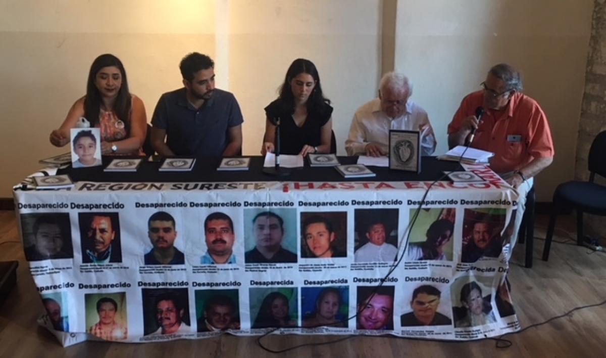 Luchan porque no se olviden los desaparecidos