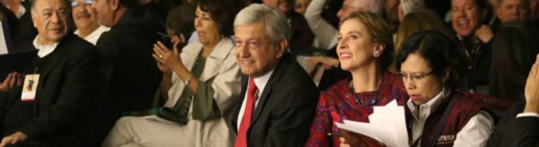 """""""Con terquedad, voy a acabar con la corrupción"""": AMLO"""