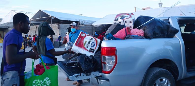 Busca OIM retorno asistido de haitianos