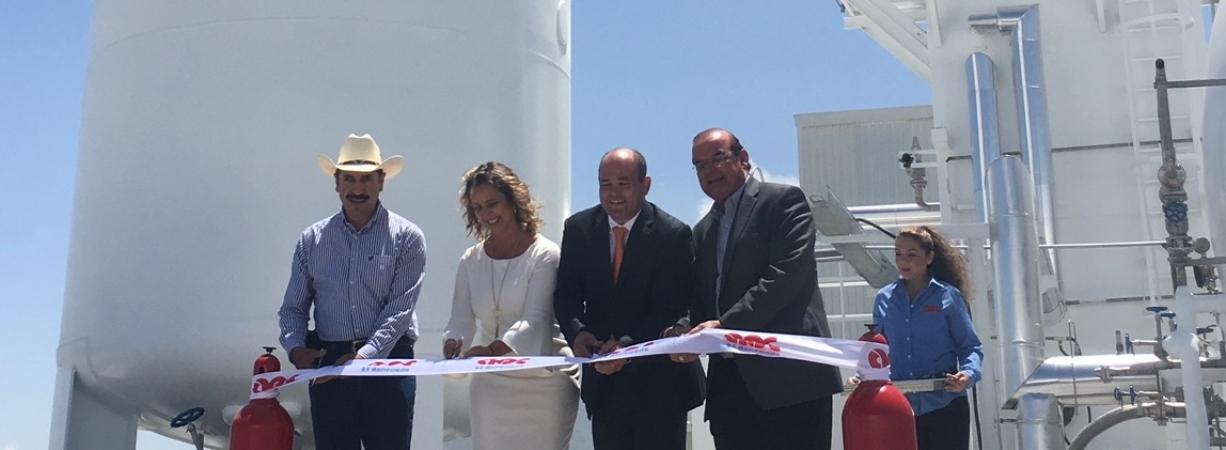 Inauguran primera planta criogénica privada