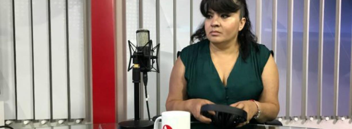 """""""Están preparando algo para detenerme y quitarme la candidatura"""": Nestora Salgado"""