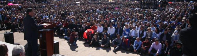 """No aceptaremos """"garrotazo"""" del gobierno de Peña: Javier Corral"""