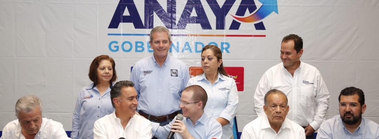 Inseguridad es por culpa de gobiernos del PRI coludidos con delincuentes: Anaya