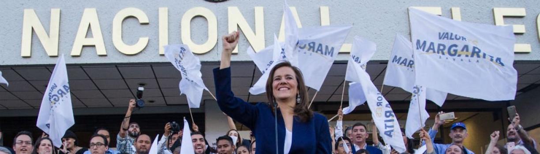 Renuncia Margarita Zavala al financiamiento público para su campaña