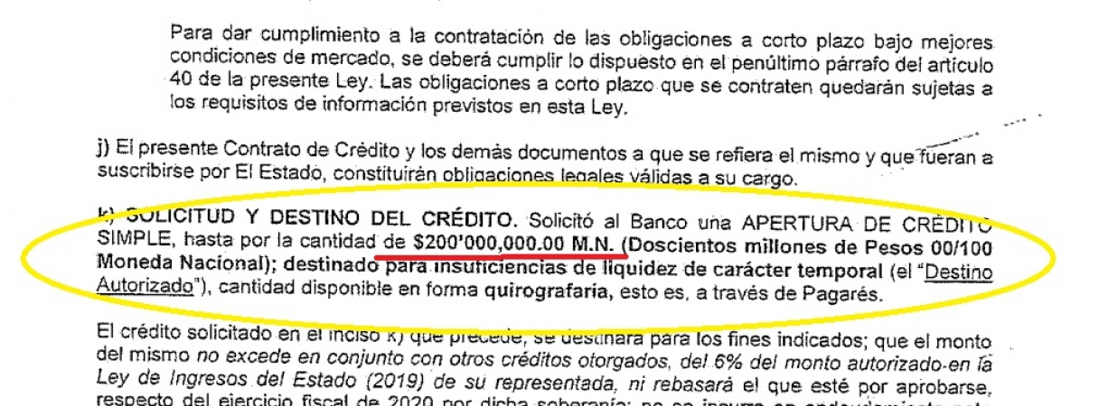 Obtuvo Coahuila nuevo préstamo por 200 mdp