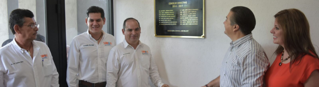 INAUGURAN OFICINAS ADMINISTRATIVAS DE SIMAS ACUÑA.