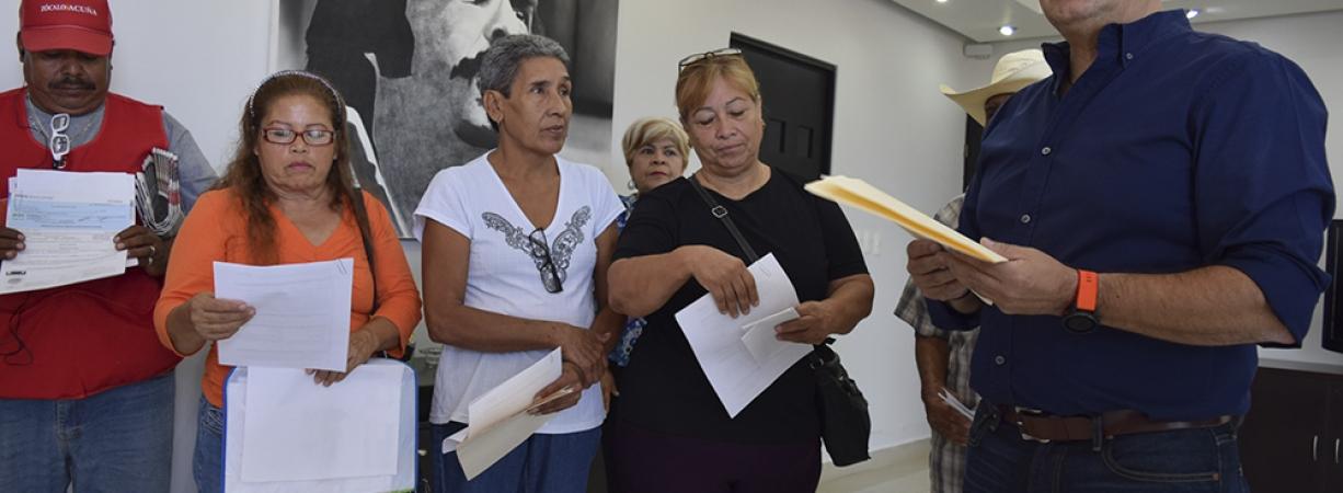 MÁS DE 380 CONTRIBUYENTES HAN SIDO INDEMNIZADOS CON 6 MILLONES DE PESOS POR DAÑOS A VIVIENDA Y MENAJE.