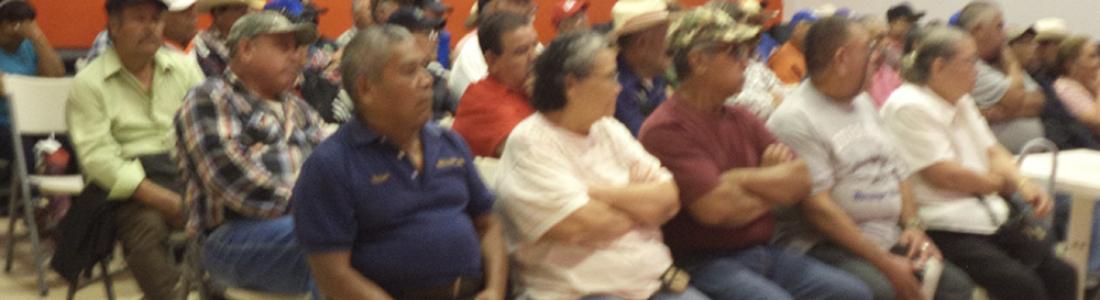 TEMAS DE SALUD Y DEL BUEN TRATO RECIBEN ADULTOS MAYORES EMPACADORES.