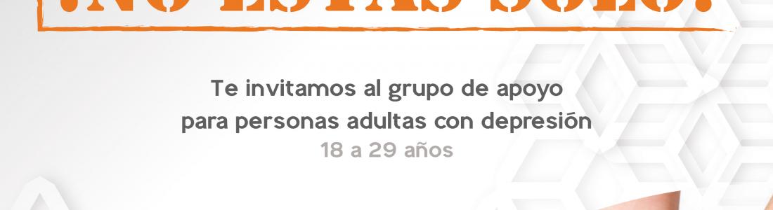 CONFORMARÁ EL DIF GRUPO DE APOYO PARA PERSONAS  ADULTAS CON DEPRESIÓN.