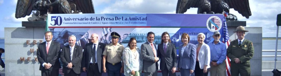 A 50 AÑOS DE INAUGURADA LA PRESA DE LA AMISTAD, SIGUE CONSTRUYENDO ESPACIOS DE HERMANDAD Y DE COMUNICACIÓN.