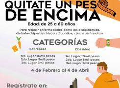 """""""QUÍTATE UN PESO DE ENCIMA""""."""