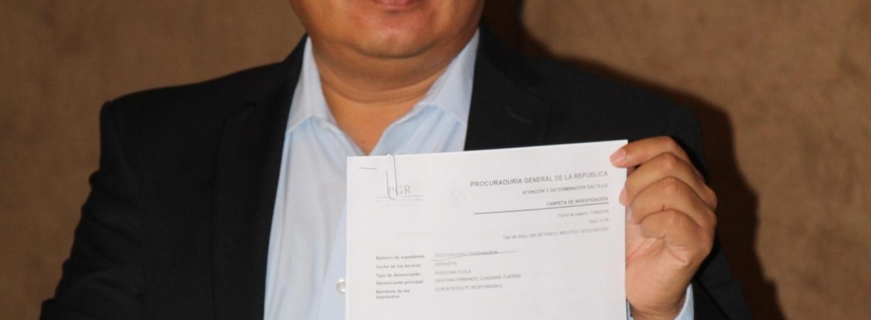 Denuncian por espionaje y delitos electorales a gobierno de Rubén Moreira