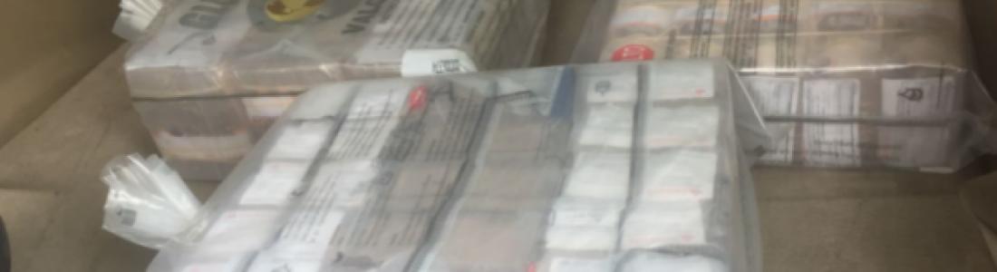 Detienen a 2 hombres con 20 millones de pesos en Insurgentes Norte; PRI niega estar involucrado