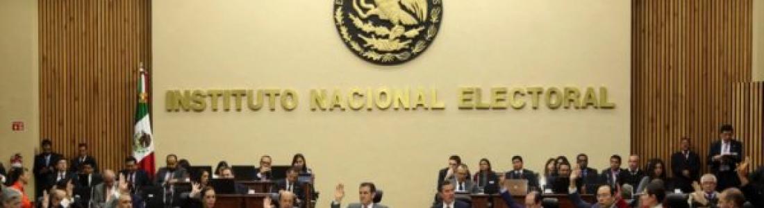 Por irregularidades en informes, INE sanciona con 539 millones de pesos a partidos