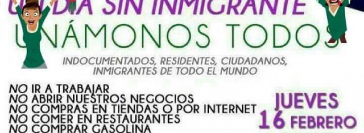 Un día sin inmigrantes en Austin Texas / A day without inmigrants