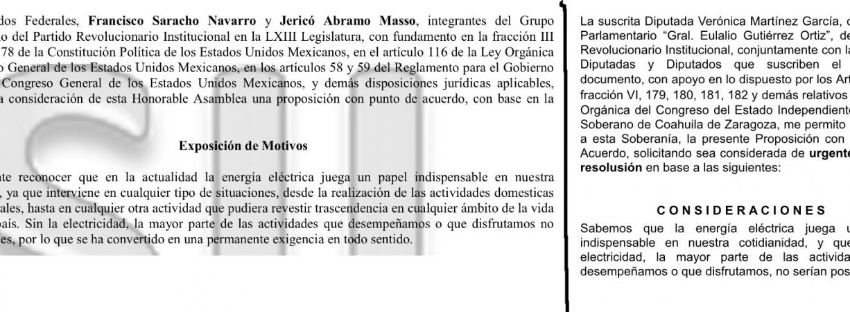 """Se """"fusila"""" Verónica Martínez punto de acuerdo reciclado"""