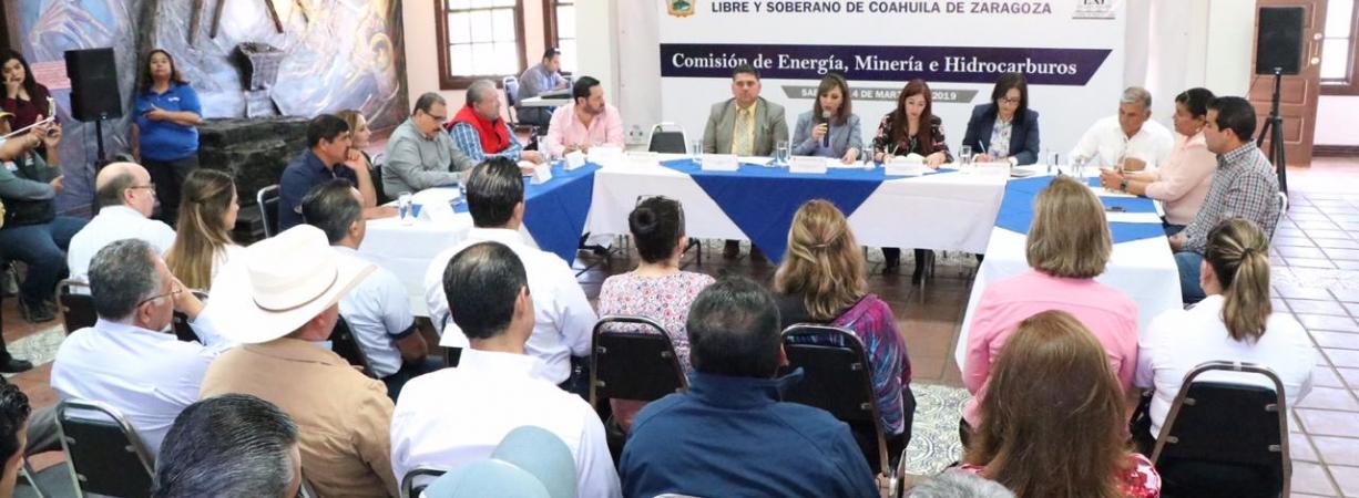 Se integra Frente Común con  productores de carbón y fortalecer la Región Carbonífera.