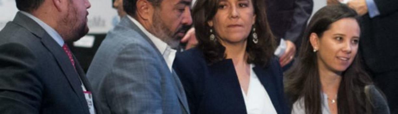 """Por declinación, nada; """"no soy dueña de la voluntad de quienes me siguen"""": Margarita Zavala"""