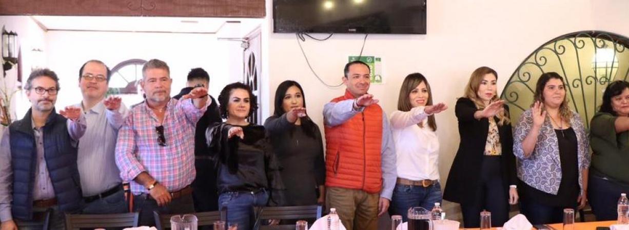 UDC  renueva Dirigencia Estatal. Emilio De Hoyos nuevo Presidente