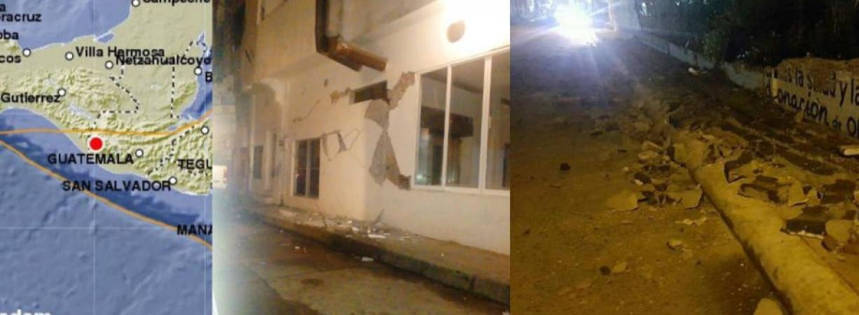 Chiapas: sismo de 7.0 grados deja daños materiales