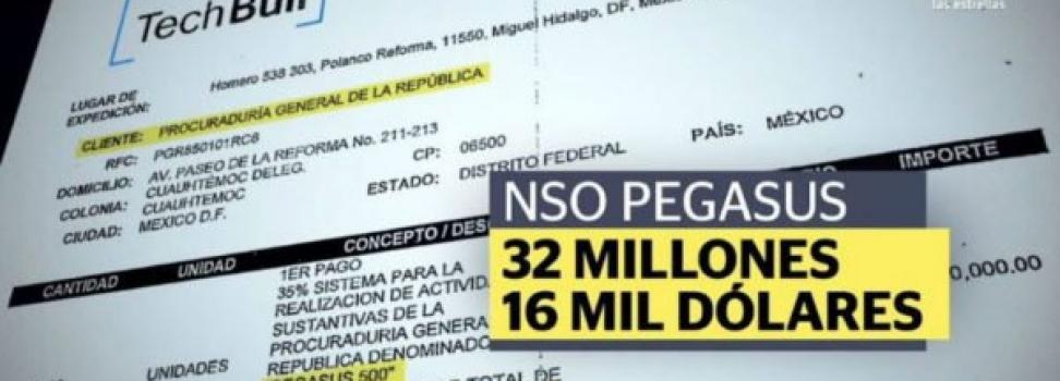 Filtran contrato que comprueba que PGR compró Pegasus