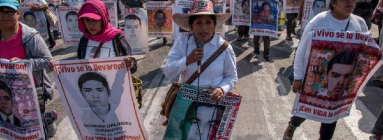 Avala Senado castigar desaparición forzada hasta con 90 años de prisión
