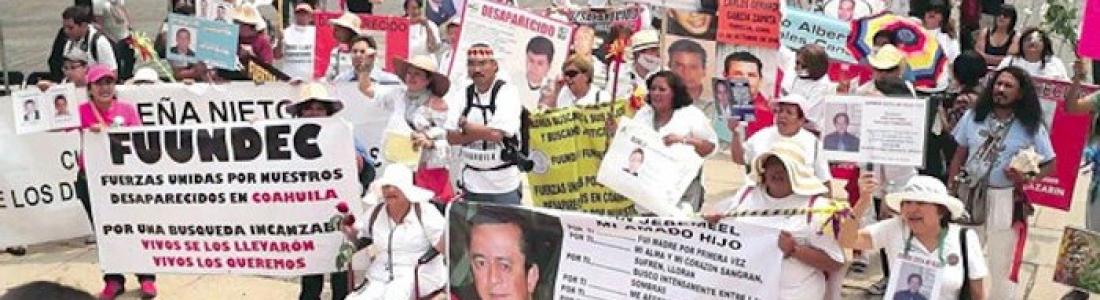 """""""No hay resultados, no están nuestros hijos""""; dice madre de desaparecidos"""