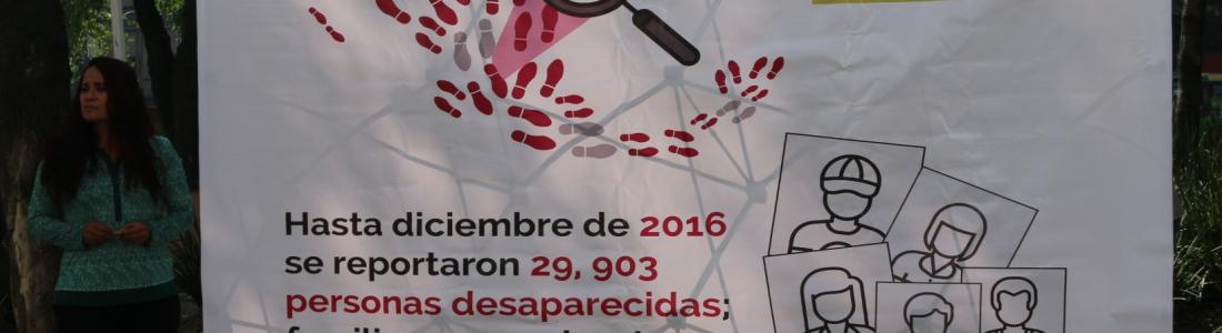 Demandan familias apruebe Senado la  Ley en materia de desapariciones  Por Camelia Muñoz
