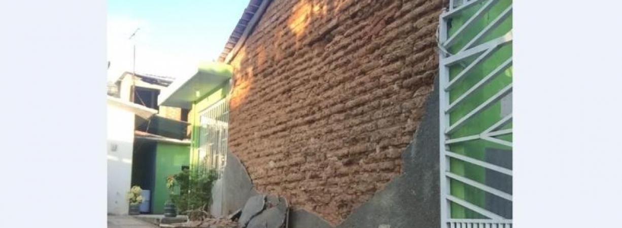 DAÑOS MATERIALES PROVOCA EL SISMO DE 7.2 EN OAXACA