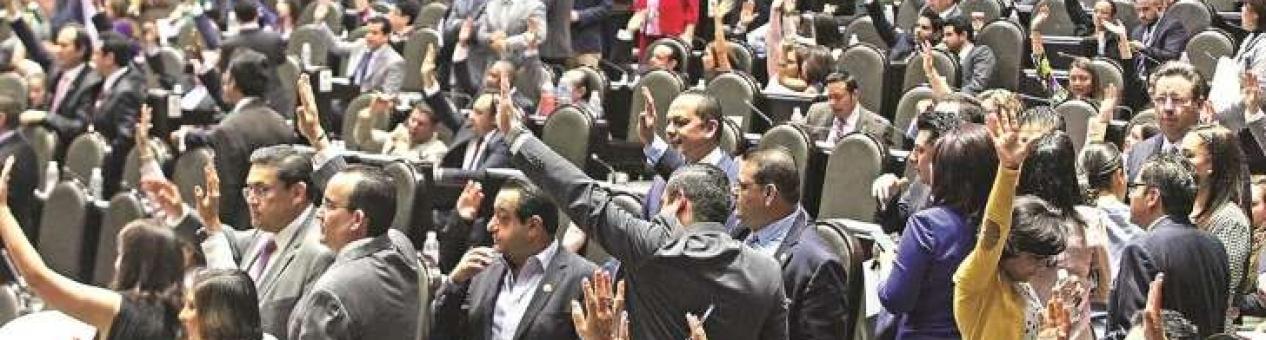 Diputados avalan veto de 3de3 para IP; va al Ejecutivo