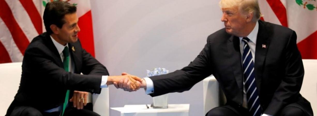 EPN y Trump sí hablaron de migración, pero no por teléfono: Casa Blanca