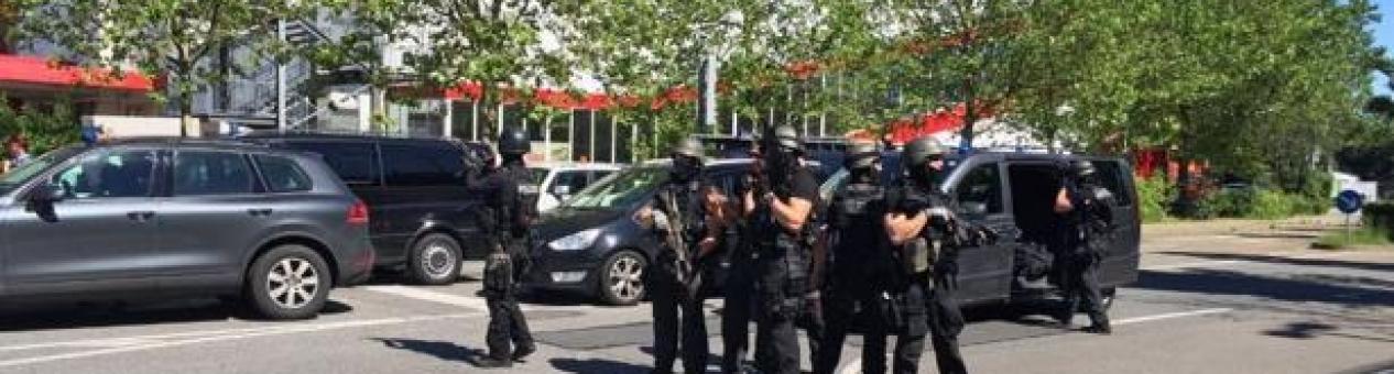 La policía alemana abate a un hombre armado que abrió fuego en un cine de Viernheim