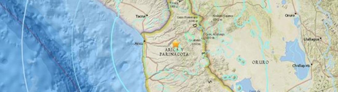 Un terremoto de magnitud 6,3 sacudió el norte de Chile