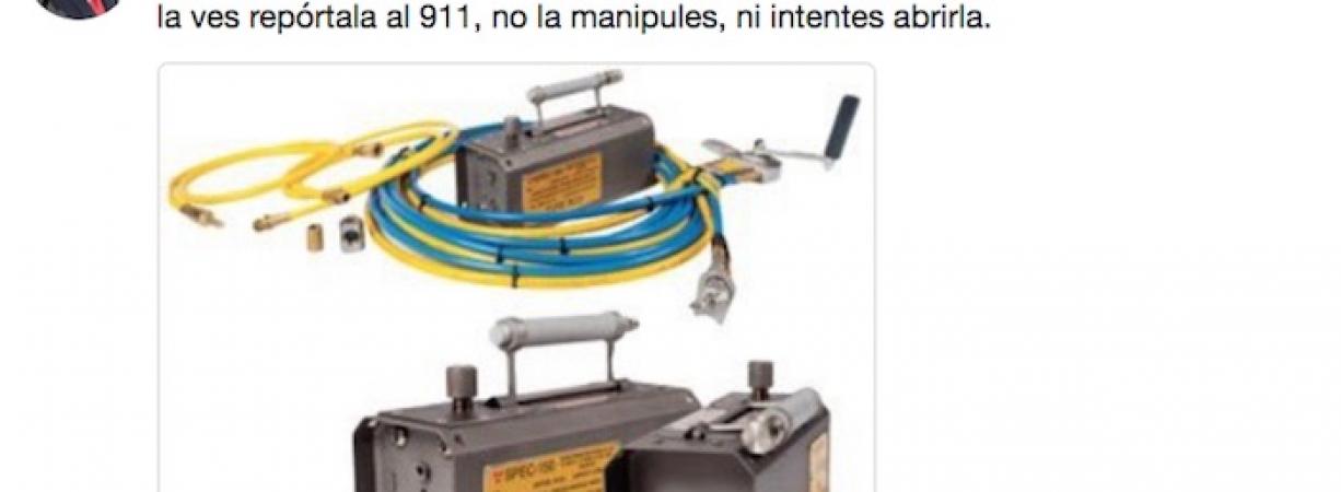Protección Civil activa alerta en seis estados de la República tras robo de una fuente radiactiva