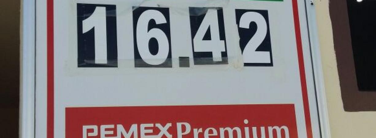 Vuelven a sorprender con aumento en precios de gasolina en Acuña