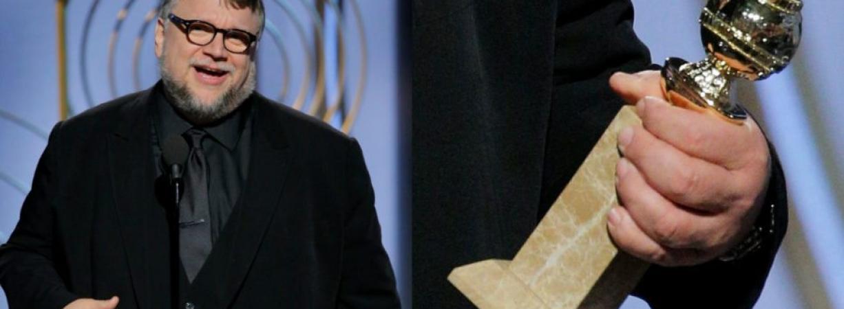 Es Del Toro Mejor Director; triunfa 'Coco' y otros premios en los Globos de Oro